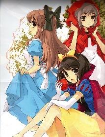 Постер из артбука Haruhi Hyakka